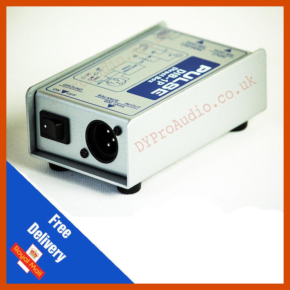Pulse DIB-1P Passive DI Box